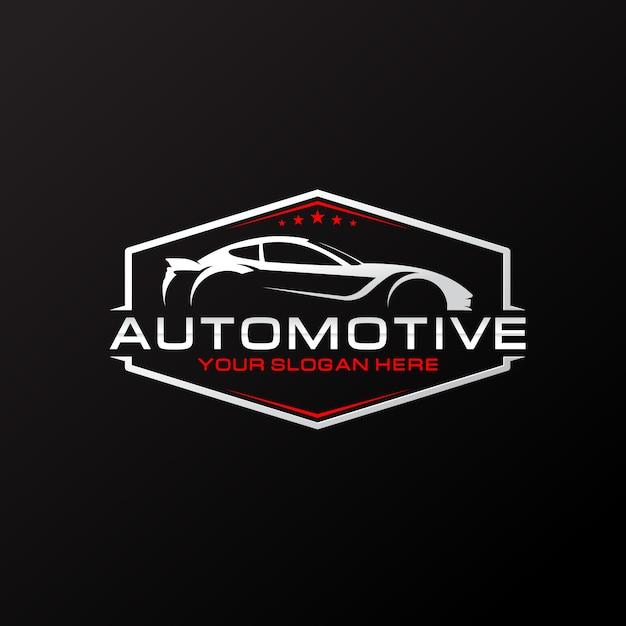 Автомобильный логотип Premium векторы