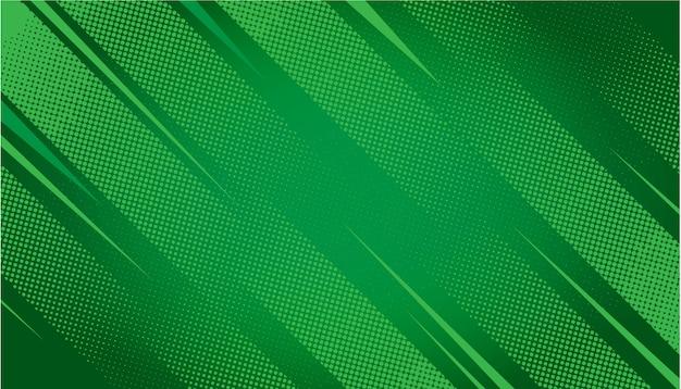 緑の抽象的なハーフトーンの背景 無料ベクター