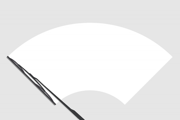 フロントガラスチェックワイパー Premiumベクター