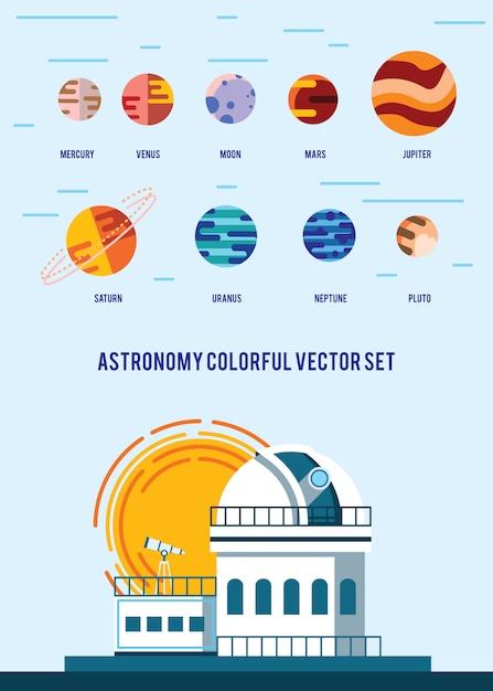 Винтаж пространства и космонавта фон. Бесплатные векторы
