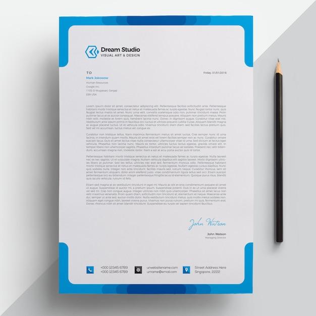 Печатный бланк Premium векторы