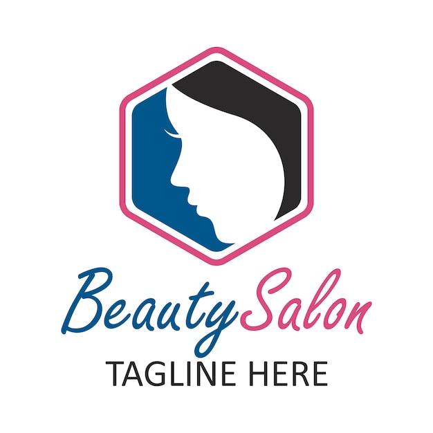 Элегантный логотип салона красоты Premium векторы