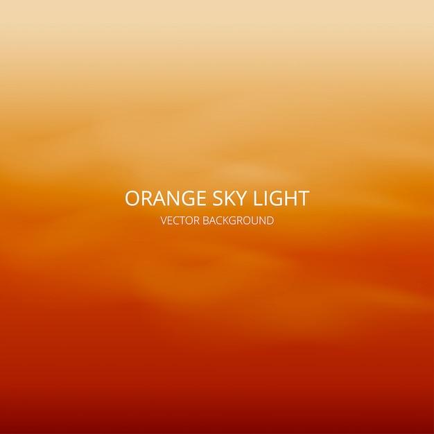 抽象的な空の光の背景 Premiumベクター