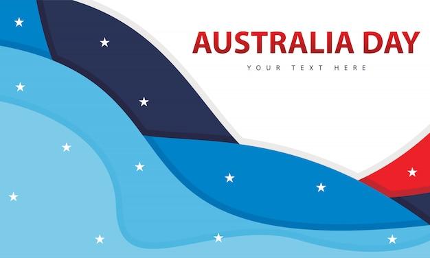 С днем австралии Premium векторы