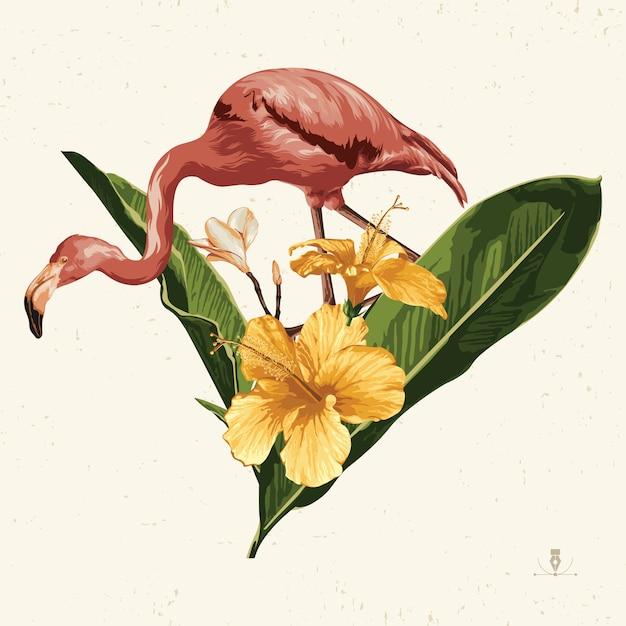 Тропическое лето картинки. летняя эмблема полезна для фона дизайн. Premium векторы