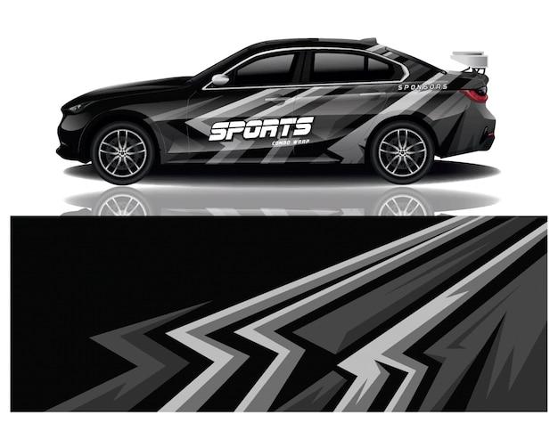 Наклейка на спортивный автомобиль Premium векторы