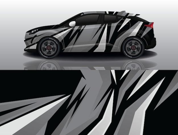 Дизайн автомобиля наклейка наклейка внедорожник Premium векторы