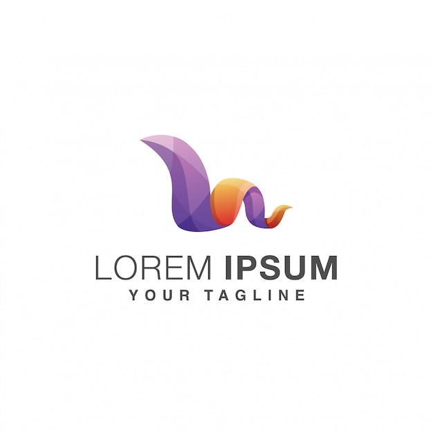 Письмо м логотип Premium векторы