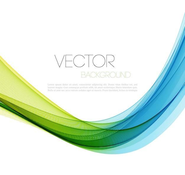 抽象的な線の背景。 Premiumベクター