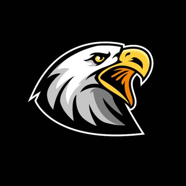 Значок орла для талисмана Premium векторы
