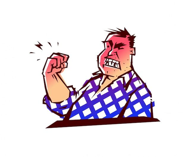 замечательный картинка мужик грозящий кулаком снимки
