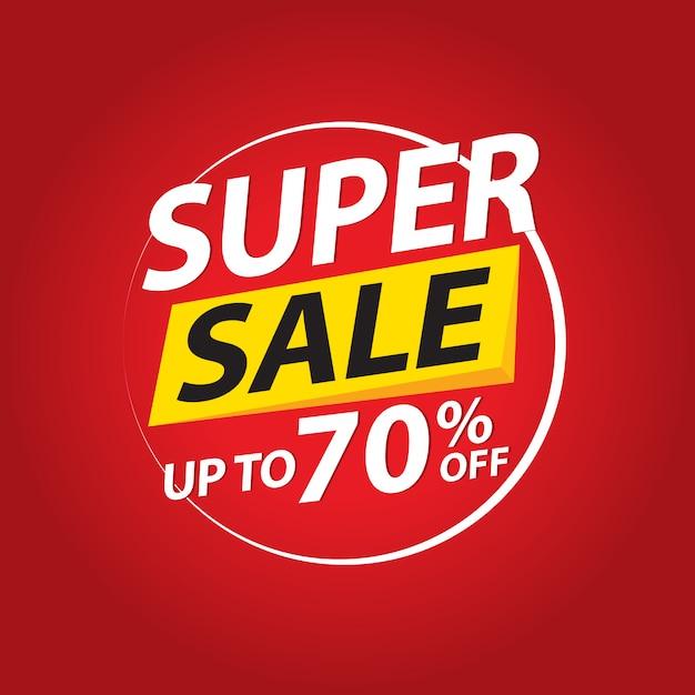 セール、特別オファーおよび価格バナーデザイン Premiumベクター