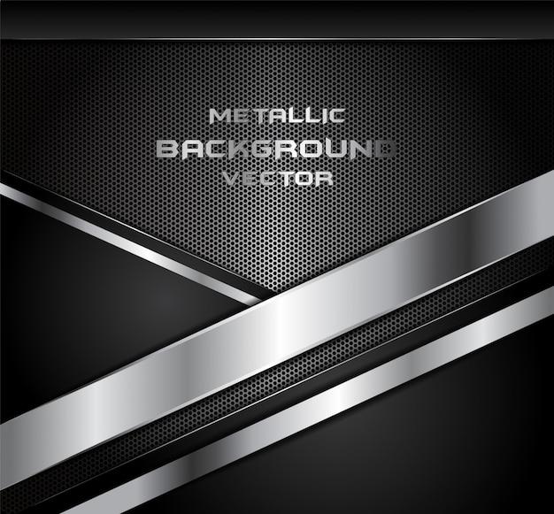 Абстрактное направление линии на шестиугольник сетки дизайн современный роскошный футуристический фон Premium векторы