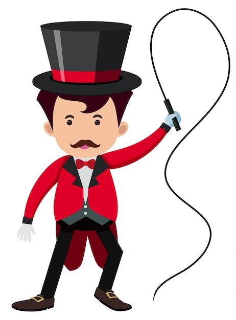 рисунок дрессировщика в цирке национальный
