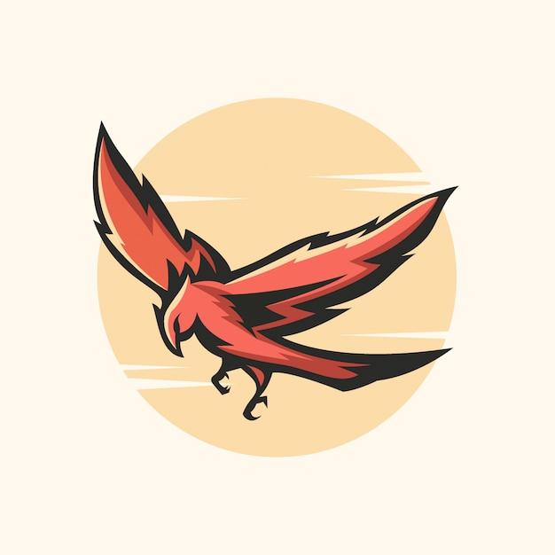 Крыло орлиного животного дикая природа Premium векторы
