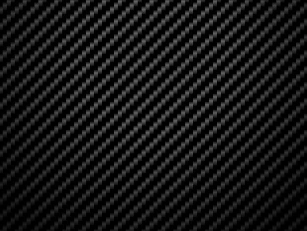 Вектор черный углеродного волокна узор фона. Premium векторы
