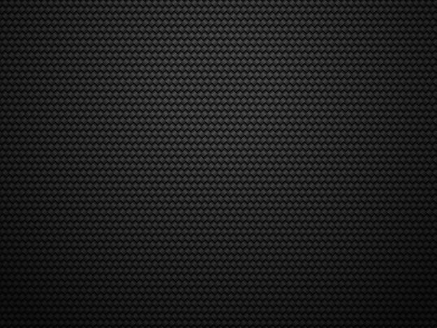 Черный карбон темный фон Premium векторы