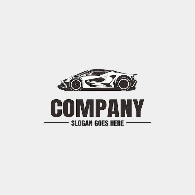 車両のロゴのテンプレート Premiumベクター