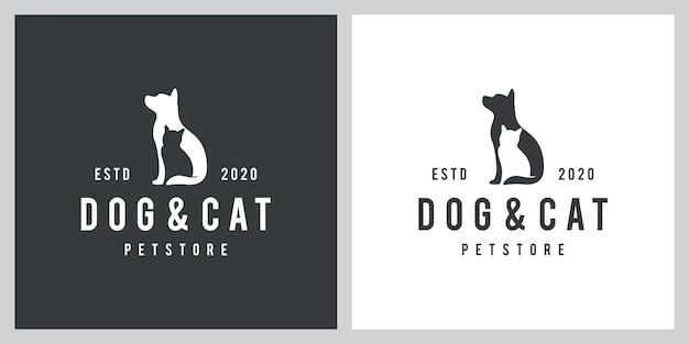 Вдохновение для собак и кошек Premium векторы
