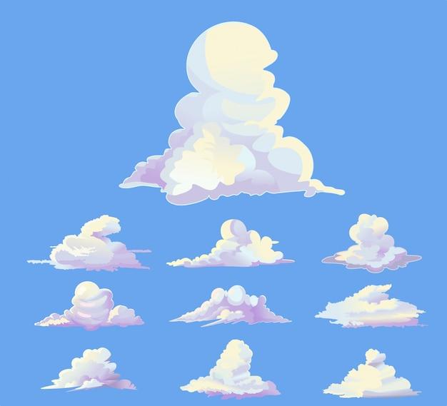 прикольные облака рисунок каждый