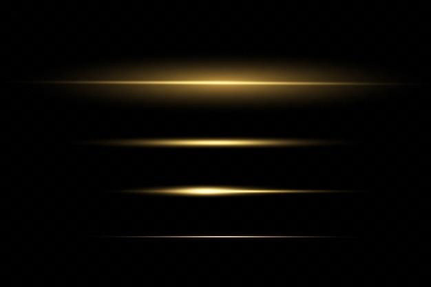 Иллюстрация светового эффекта Premium векторы