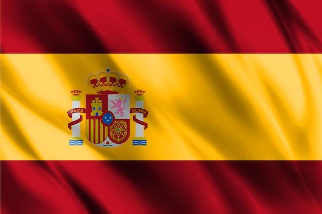 Флаг королевства испания Premium векторы