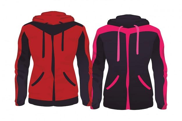 スポーツフィットネスジャケット Premiumベクター