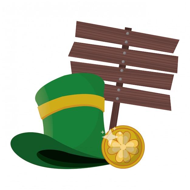 聖パトリックの日アイルランドのお祝い Premiumベクター