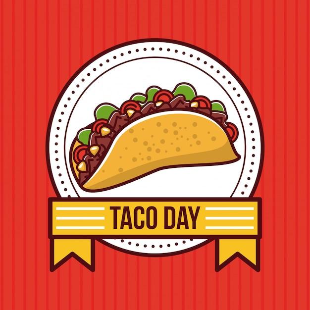 Мексиканская еда мексиканская еда Premium векторы