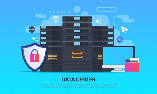 データ保護の技術 Premiumベクター