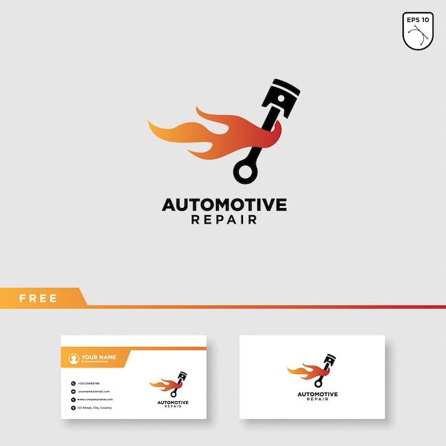 車サービスベクトルのロゴデザイン Premiumベクター