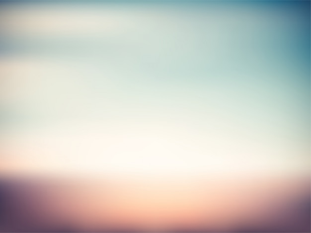 Красочный винтажный закат градиент размытия летний фон Premium векторы