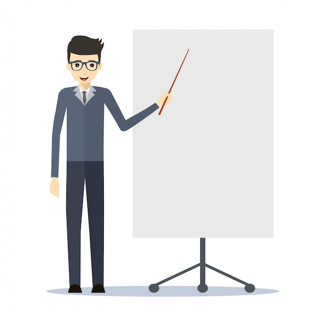 этой подборке картинка человечек с указкой представляет собой
