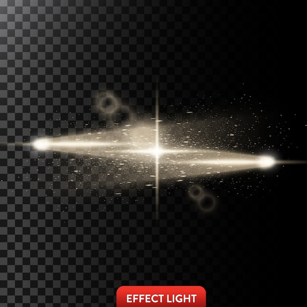 Световые эффекты фона Бесплатные векторы