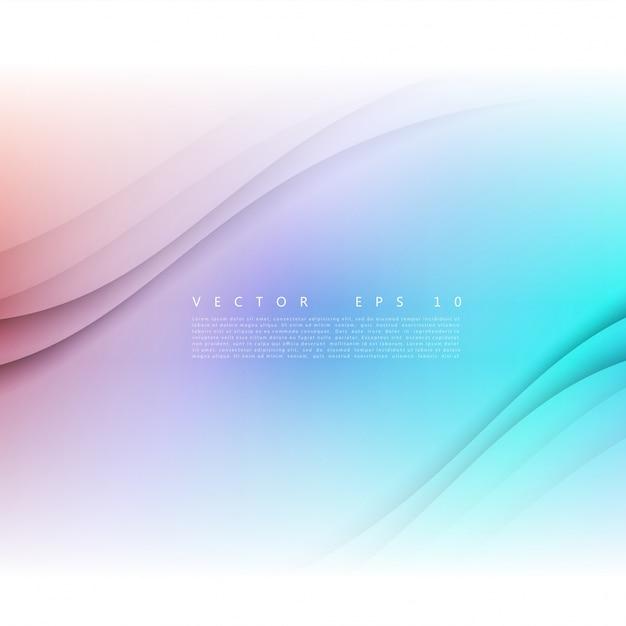 Векторные белые волнистые баннер. Бесплатные векторы