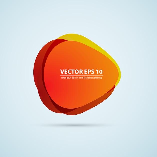 ベクトル色の背景抽象的な円。 無料ベクター