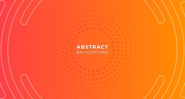 Абстрактный круг точка градации фон Premium векторы