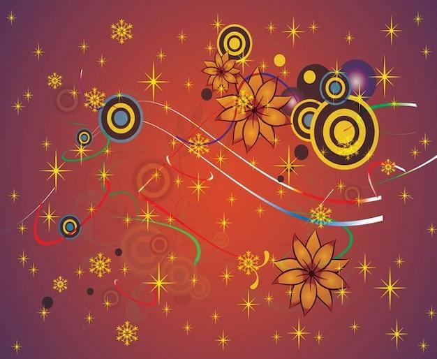 Вектор цветов фона графика Вектор ...: ru.freepik.com/free-vector/vector-flowers-background-graphics...