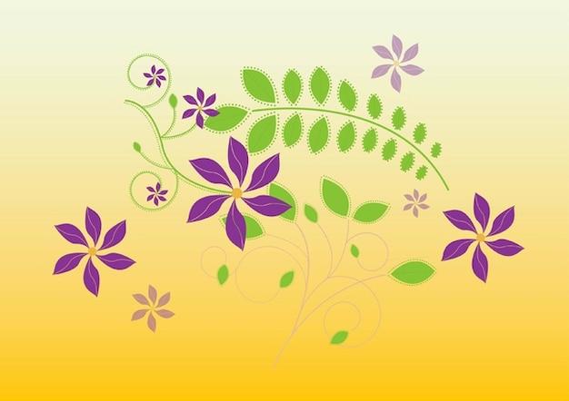 かわいい花のイラスト ベクター画像 無料ダウンロード