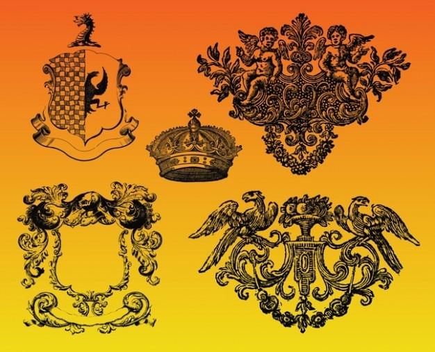 королевской графики Вектор | Скачать: ru.freepik.com/free-vector/royal-graphics_549811.htm
