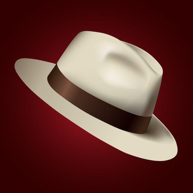 帽子の図 Premiumベクター