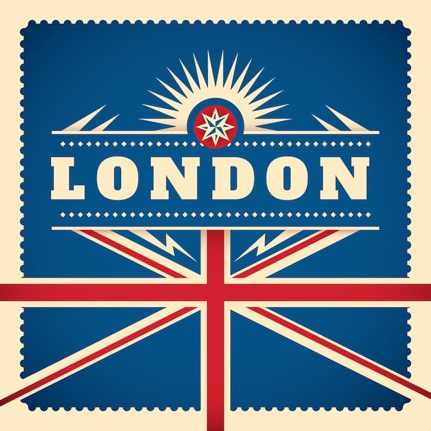 Лондонский фон Premium векторы