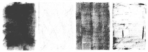 Гранж вертикальные рамки ретро набор Бесплатные векторы