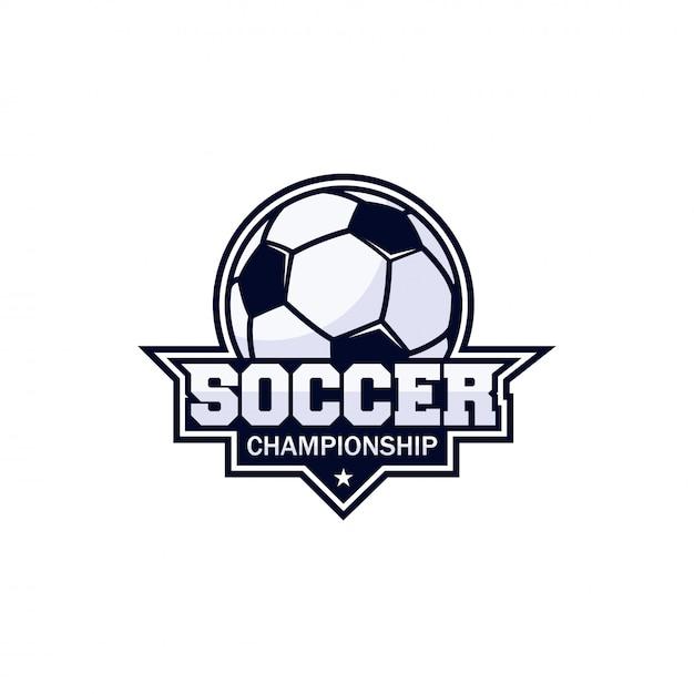 フットボールクラブバッジ Premiumベクター