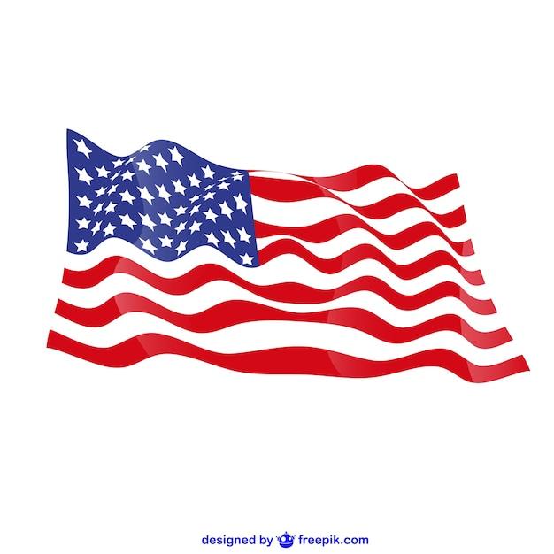 Сша вектор бесплатный флаг Бесплатные векторы