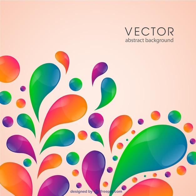 Шаблон вектор цвет вихревой Бесплатные векторы