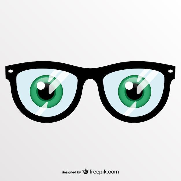 Векторные искусства очки Бесплатные векторы