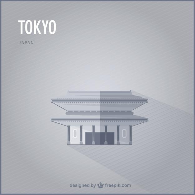 東京ベクトルランドマーク 無料ベクター