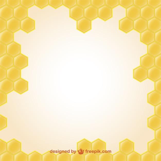 蜂蜜のイラストの壁紙 ベクター画像 無料ダウンロード