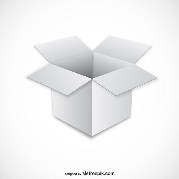 ホワイトボックスイラスト ベクター画像 無料ダウンロード